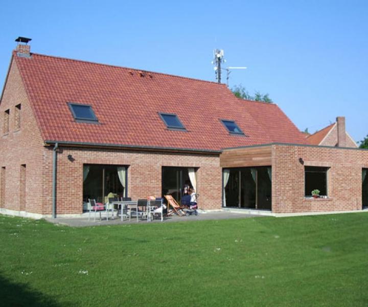 Extension maison individuelle